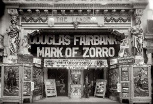 Mark of Zorro Movie Marquee